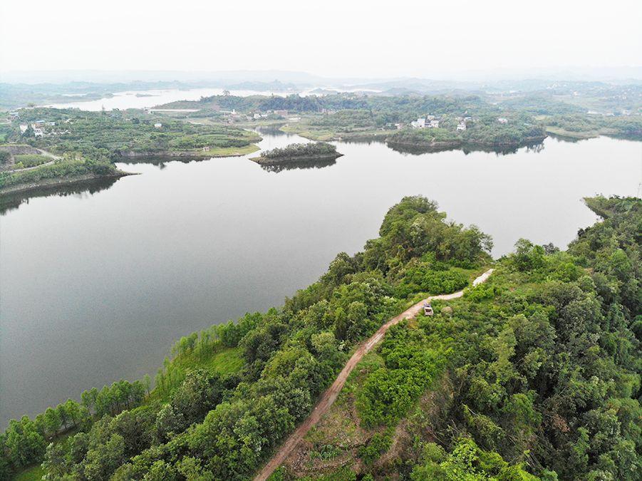 鸟瞰长寿湖